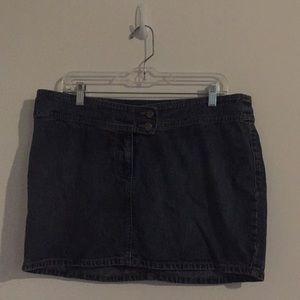 """SO Jean Skirt 15"""""""